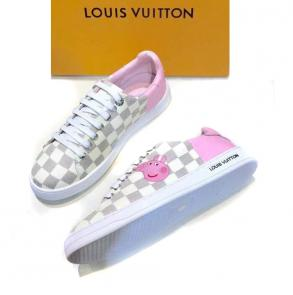 acheter shoes women louis vuitton peppapig white